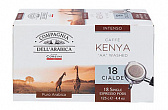 Кофе в чалдах Compagnia Dell` Arabica Kenya AA Washed (18 шт. х 6,7 гр.)